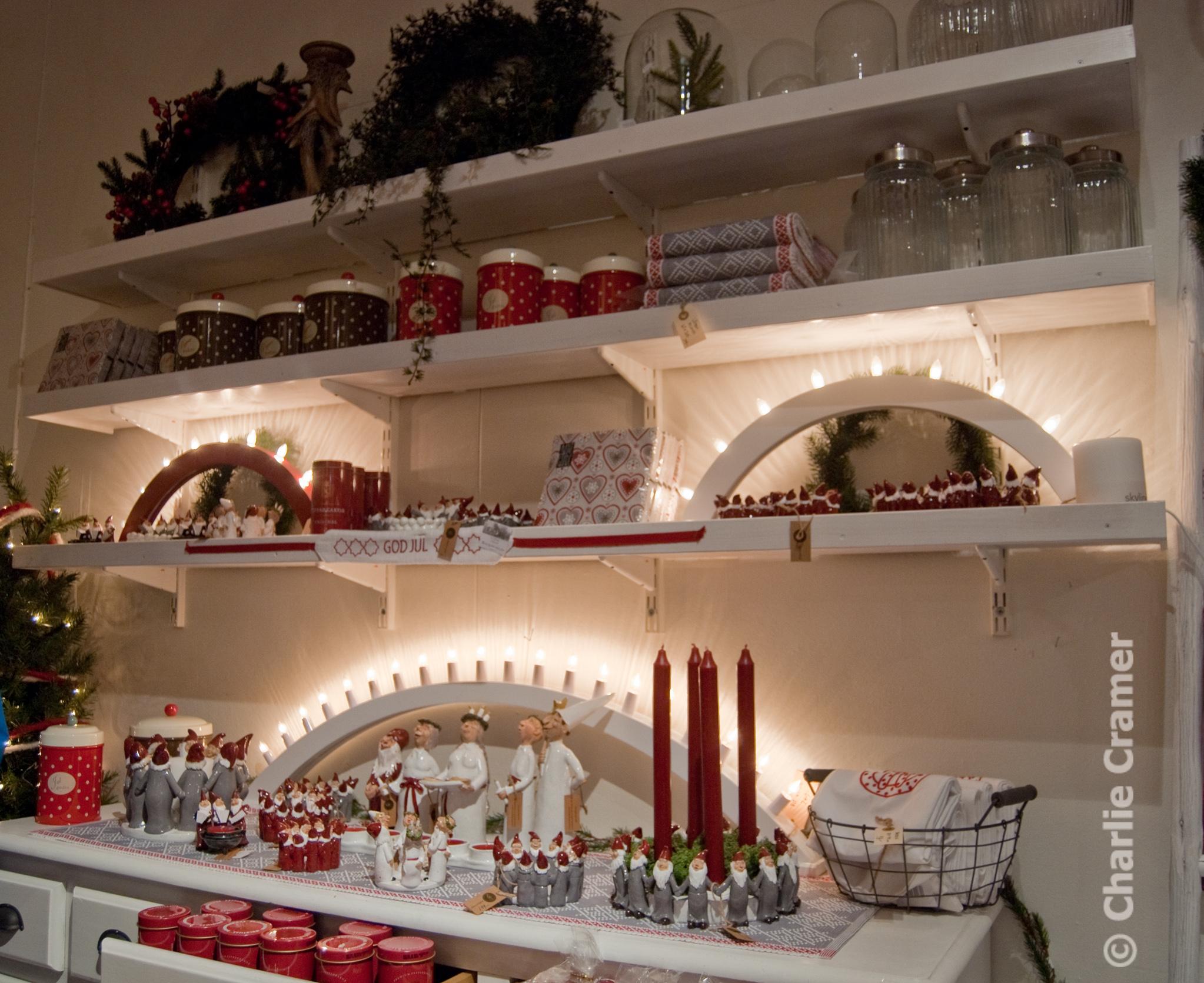 Falbyden Julmarknad början
